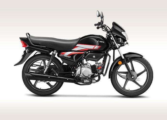 Hero HF 100 2021, motor sport termurah yang diproduksi Hero MotoCorp.