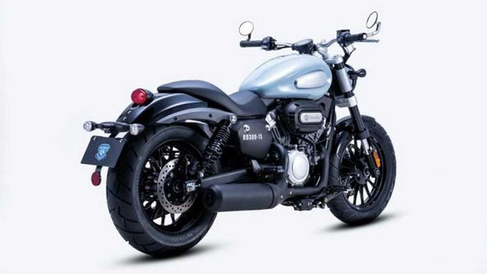 Benda BD300, kloningan Harley-Davidson asal China.