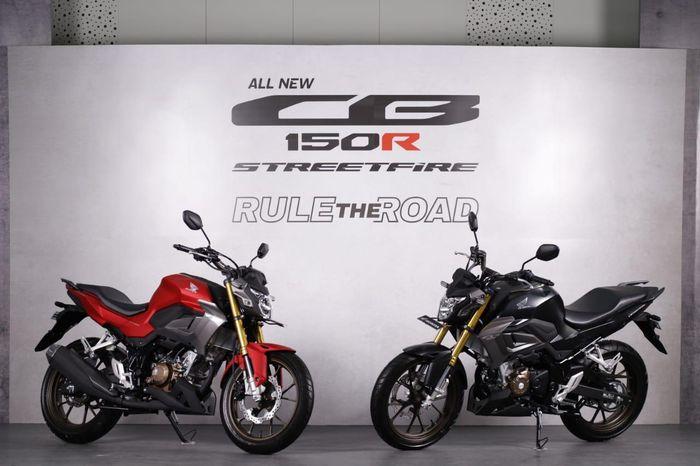 All New Honda CB150R StreetFire tampil lebih agresif