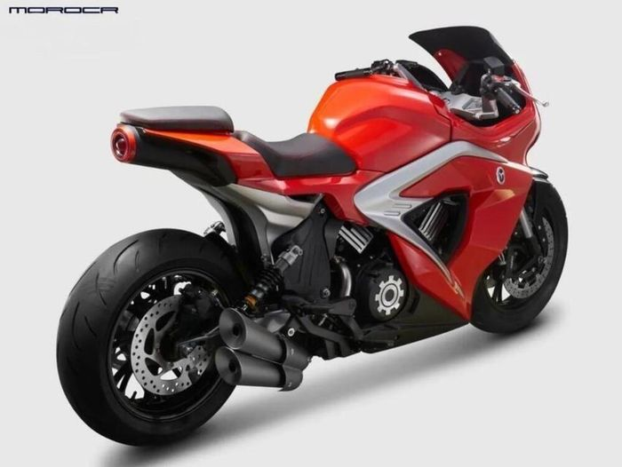 Motrac Unicorn 800, kloningan motor sport MV Agusta Superveloce 800.
