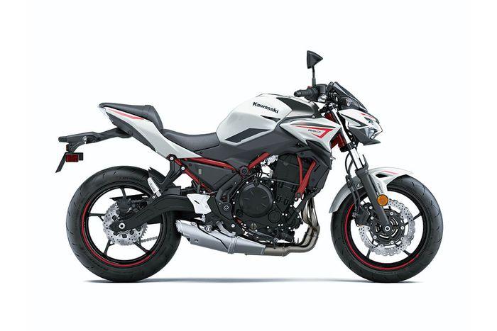 Kawasaki Z650 2022 meluncur dengan update warna baru.
