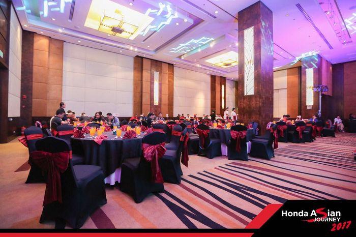 Gala Dinner bersama tim Honda Asian Journey 2017