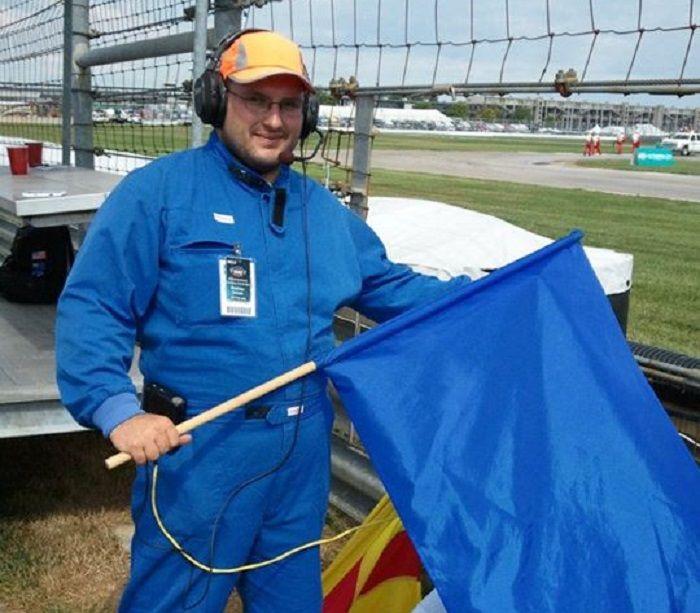 Bendera biru pada MotoGP