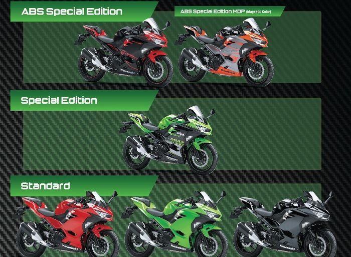 Kawasaki New Ninja 250 all color