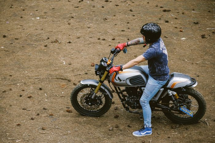 Cleveland Misfit Scrambler Speedking Motorcycles