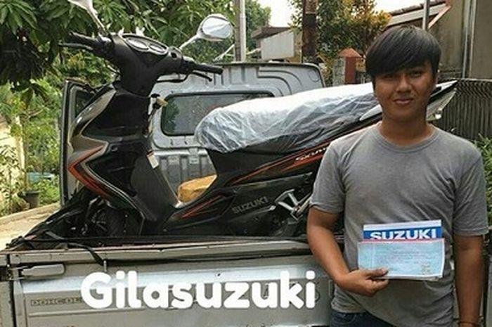 Postingan Suzuki Skywave laku Rp 50 juta