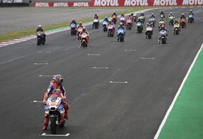 Jack Miller, start sendirian paling depan di GP Argentina 2018