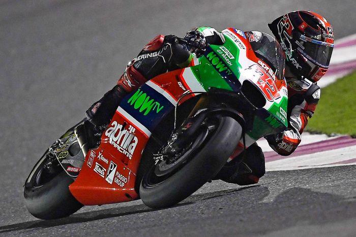 Sam Lowes saat masih di Aprilia Gresini MotoGP 2017