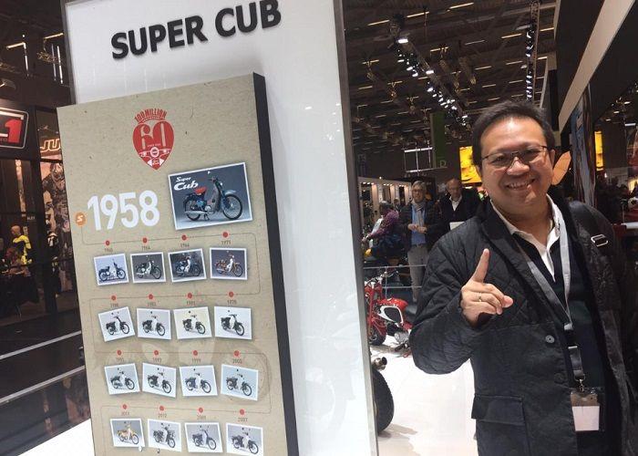 Thomas Wijaya: Kita masih study motor apa yang tepat untuk konsumen.