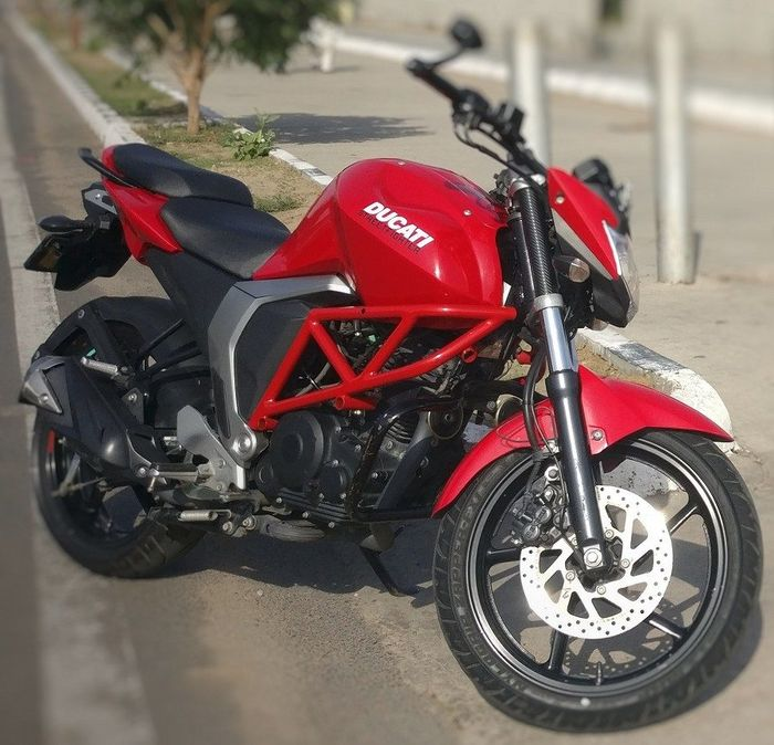 Yamaha Byson Fi evolusi menjadi Ducati Street Fighter
