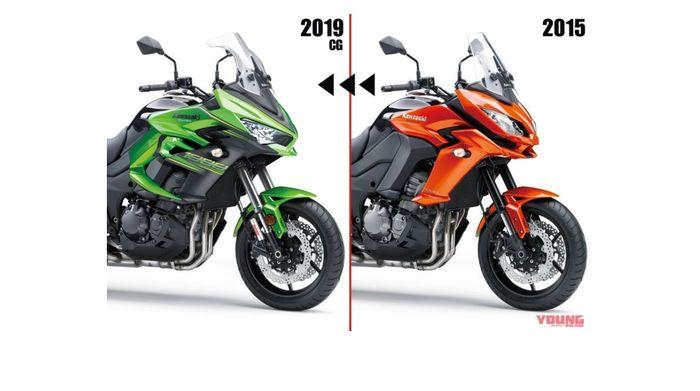 Desain Versys 1000 lansiran 2015 dan generasi anyar (prediksi)