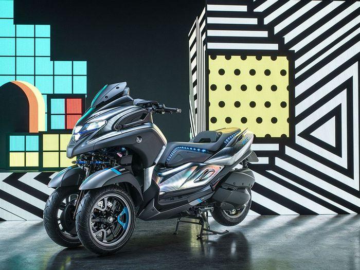 Yamaha 3CT Prototype, XMAX Tiga Roda