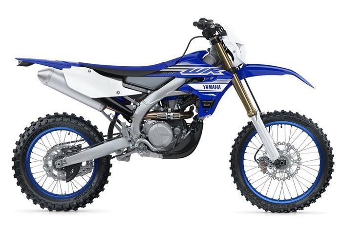 Tampilan standar Yamaha WR450F