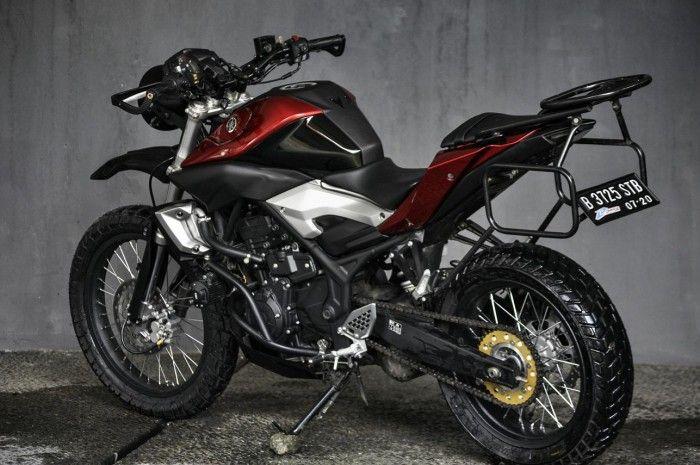 Keren Bingits Modifikasi Yamaha Mt 25 Adventure Style