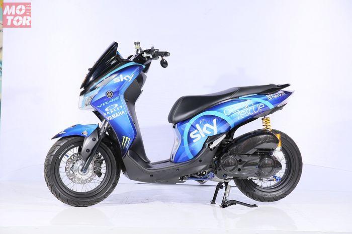 Yamaha Lexi pemenang kelas Rising Star di Customaxi Yamaha Bandung