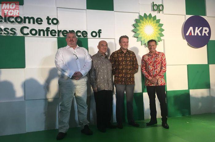 Setelah SPBU di Tangsel, kini BP-AKR resmi dibuka di SCBD Jakarta, (14/2/2019)
