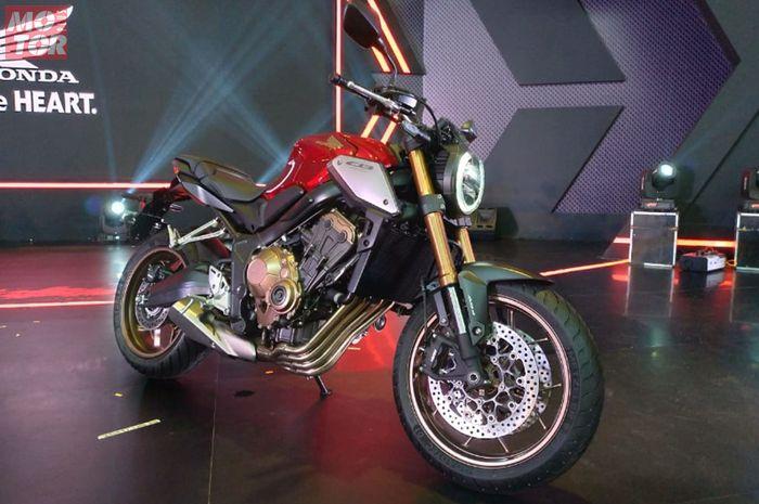 Motor baru Honda CB650R Neo Sport Cafe.