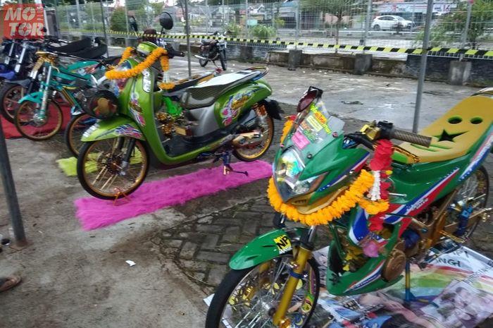 Motor modifikasi serbu kota Lubuk Linggau