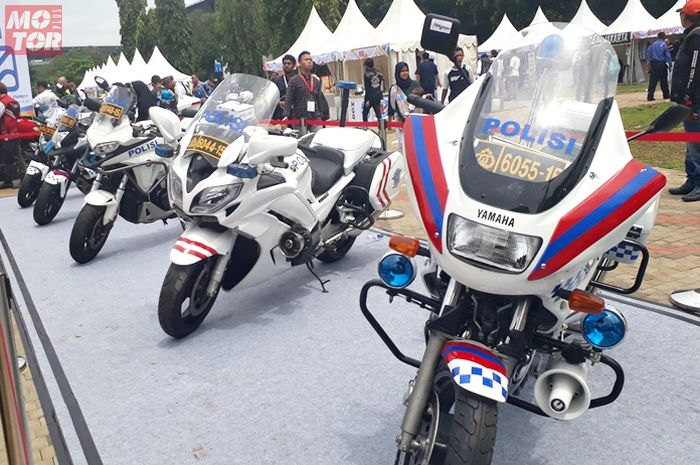 Motor polisi di Millennial Safety Riding