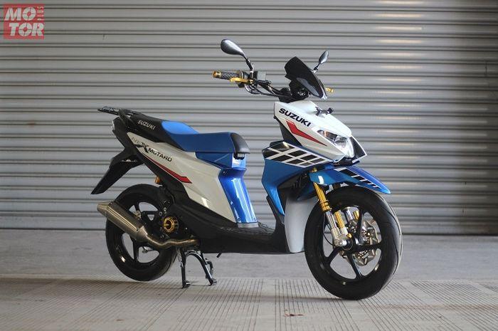 Suzuki Nex II 2018 Versi Motard Yang Memikat