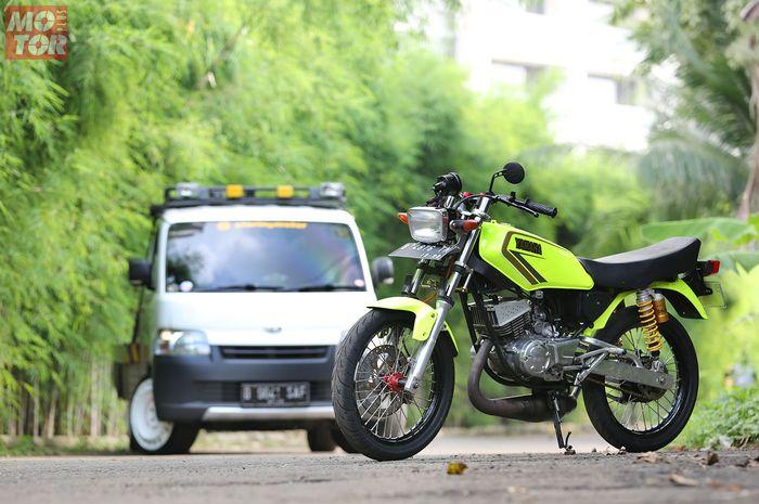Modifikasi Yamaha RX-King Storing Motor Dream Garage Modified