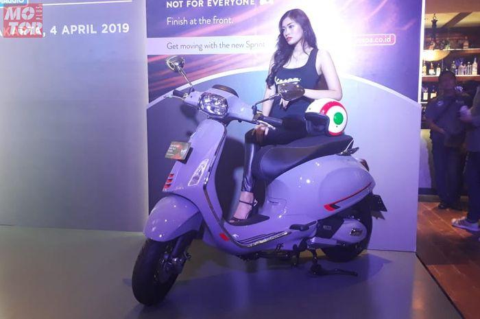 PT Piaggio Indonesia tak hanya menghadirkan versi S untuk Primavera tapi juga Vespa Sprint