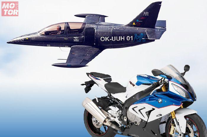 Pesawat Skyleader UL-39 Albi yang ditenagai mesin BMW S1000RR