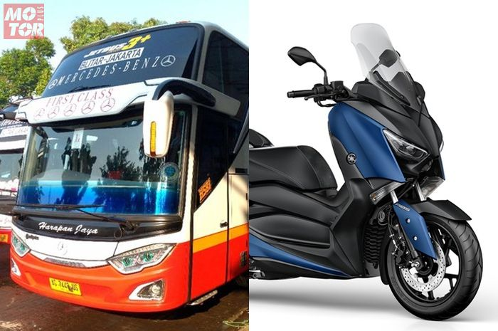 Bus Super High Deck punya bagasi muat XMAX
