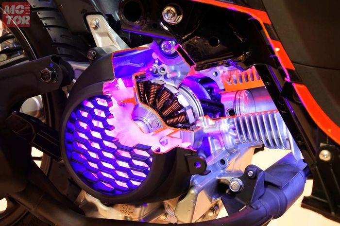 Mesin baru Honda Genio