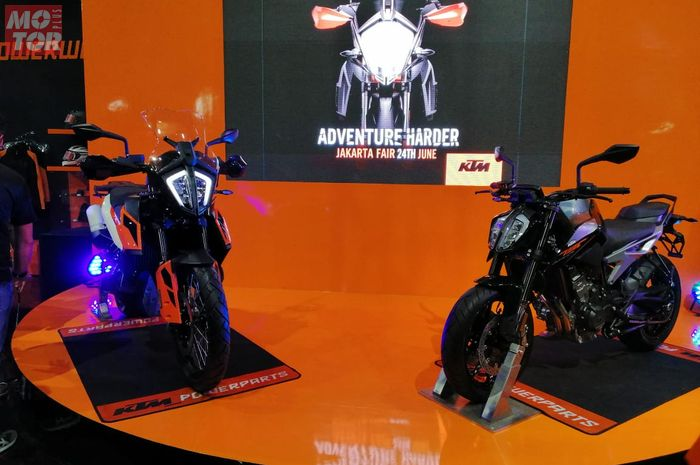 KTM Adventure 790 dan Duke 790