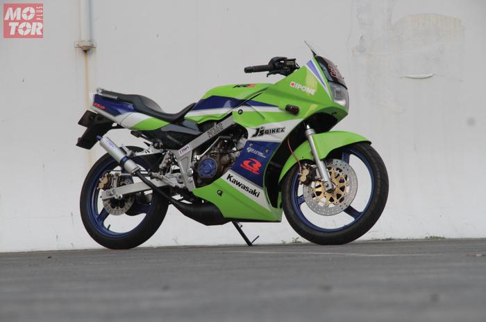 Kawasaki Ninja 150R SSR Milik Jeff Lauw