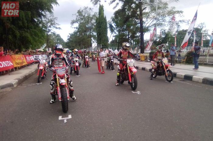 Kelas Supermoto jadi kelas baru di event Honda Dream Cup (HDC) 2019, Banjarbaru, Kalsel
