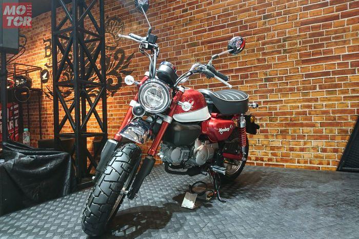 Honda Monkey yang legendaris kembali hadir dengan fitur sesuai dengan zaman now