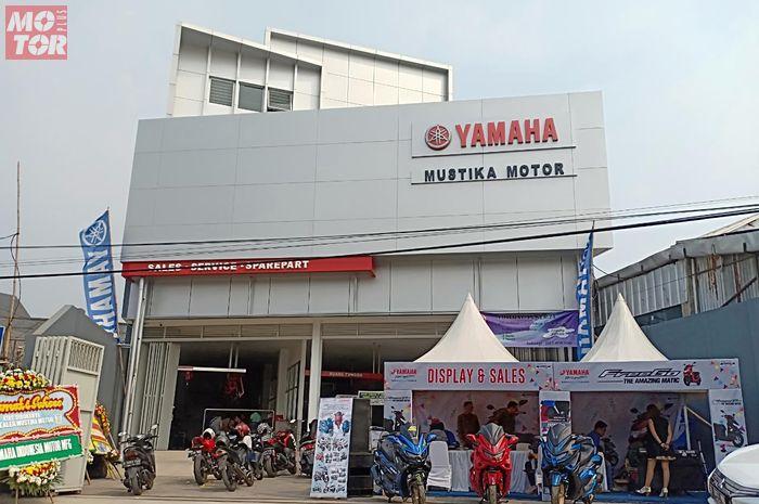 Dealer Yamaha Mustika Pondok Arena Grand kasih diskon DP Rp 1 juta untuk pembelian secara kredit