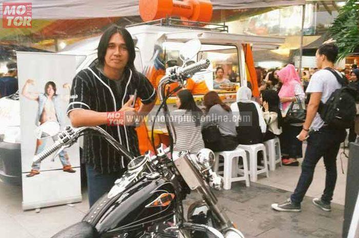Agung Hercules saat Jakarta Motogarage 2017