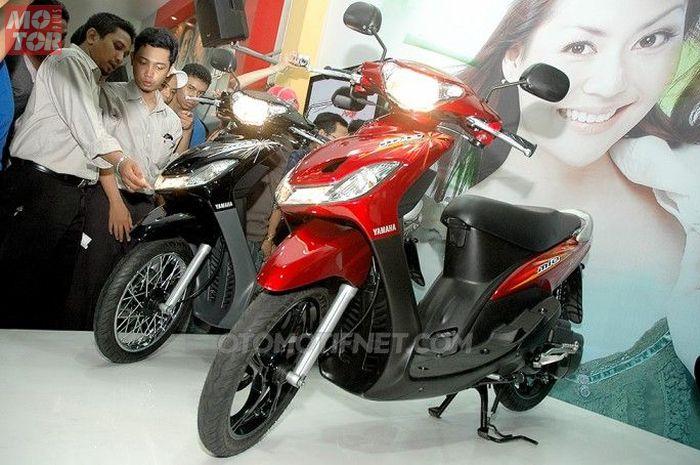 Yamaha Mio generasi kedua yang akrab disapa Mio Smile