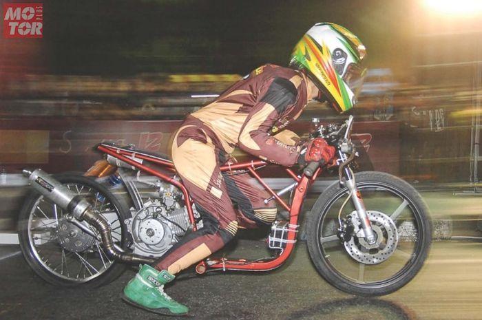 Yamaha Mio disukai buat balap drag resmi maupun liaran
