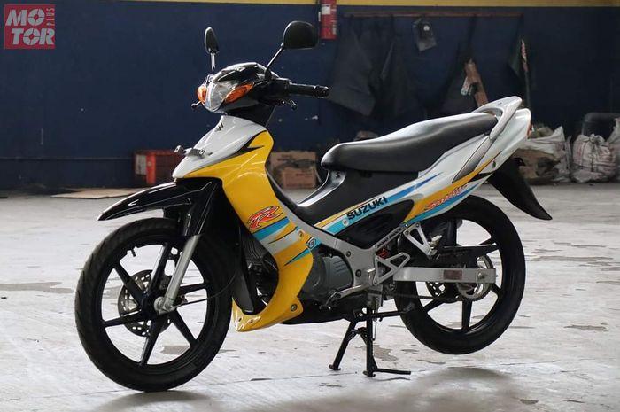Restorasi Suzuki Satria 2-Tak Sampai Baut-baut Orisinal, Biaya Tembus Dua Digit