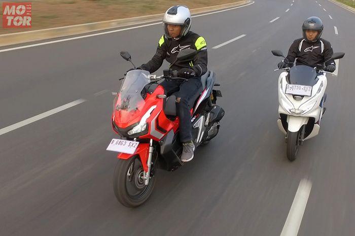 Adu akselerasi Honda ADV 150 dan PCX 150