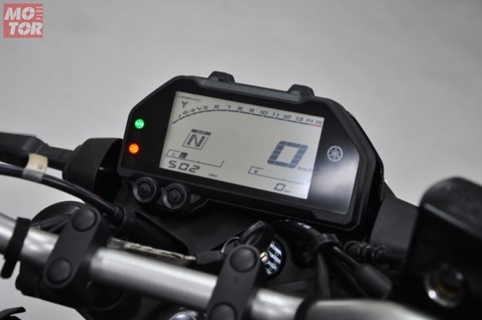 Panel Instrumen Yamaha MT-25 2020