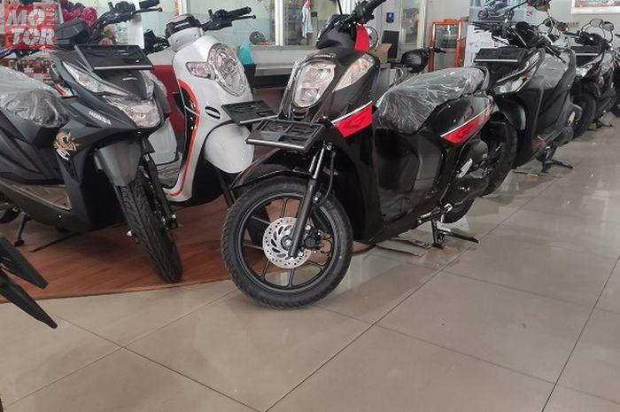 Ilustrasi dealer motor Honda.