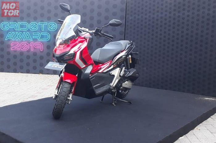 Honda ADV150 menjadi salah satu motor matic dengan biaya kepemilikan termurah menurut Gridoto Award 2019.