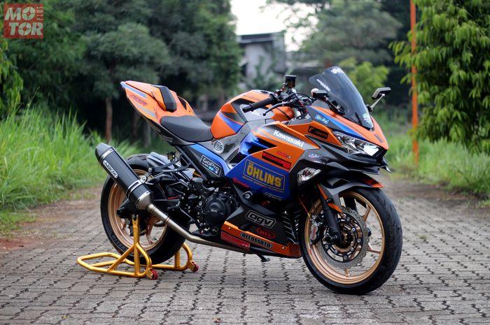 New Kawasaki Ninja 250 Habiskan Dana Rp 80 Jutaan