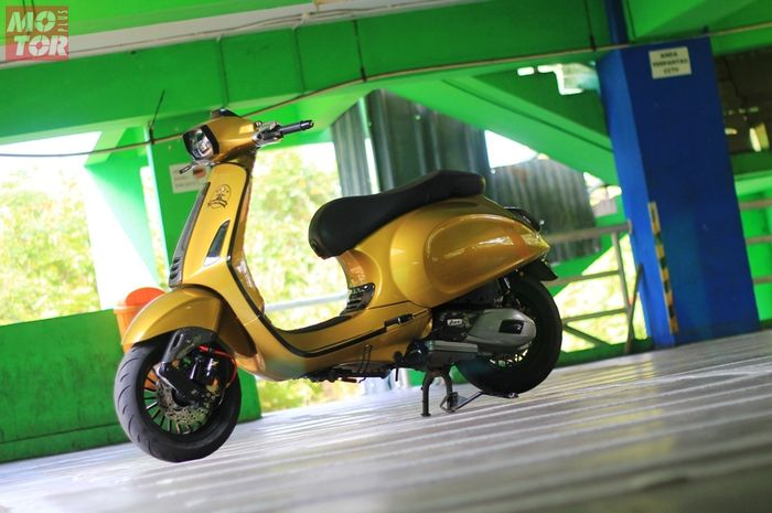 Modifikasi Vespa Sprint 150ie 3V