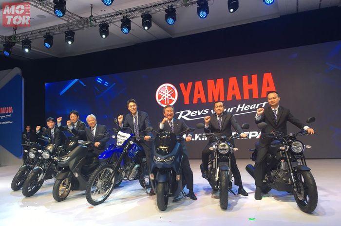 Yamaha WR155R menjadi motor trail baru di Indonesia.