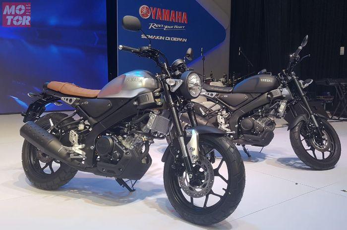Yamaha XSR 155 resmi diperkenalkan di Indonesia dalam dua warna