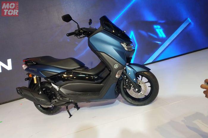 Yamaha All New NMAX 155 memakai mesin baru, bukan pakai mesin Yamaha Aerox 155.