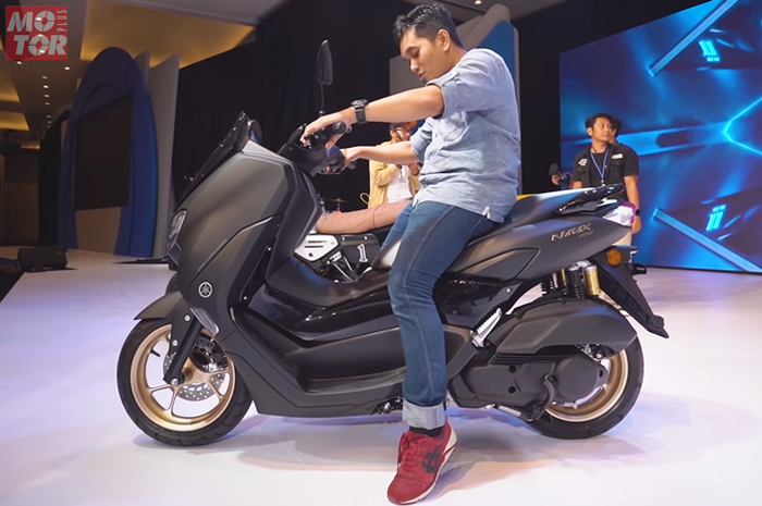 Riding position Yamaha NMAX terbaru 2020