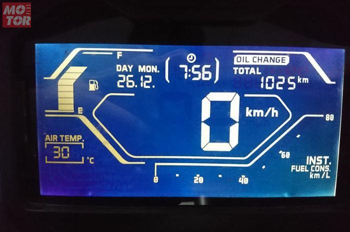 Cara menghilangkan tulisan Oil Change di Honda ADV150