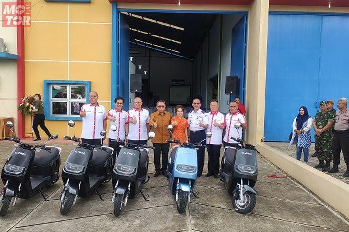 Pabrik motor listrik Elvindo mewujudkan permintaan pemerintah akan kendaraan listrik.